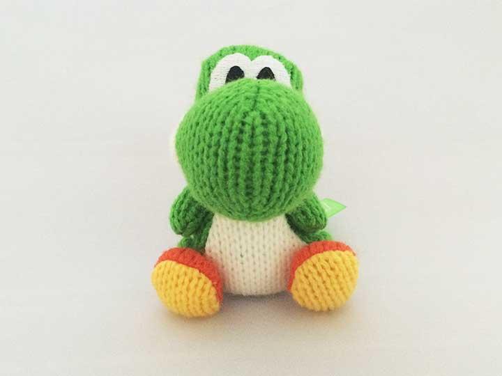 編みぐるみヨッシー緑
