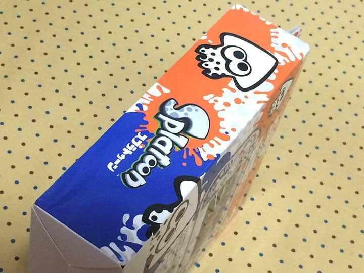 スプラトゥーンゲームバッドカバーパッケージ横